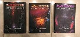 Libros de Maze Runner