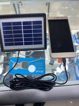 Cargador solar celulares