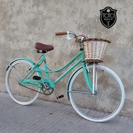 Bici Vintage Bicicleta Paseo Rondinella