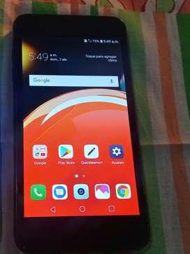 Celular LG k9 libre sin detalles impecable de 16 gigas y2 de ram