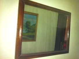 Espejo de cedro