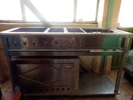 Venta Estufa Industrial con horno Pizero