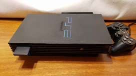 Playstation 2 Fat + HDD (Completa) - Impecable