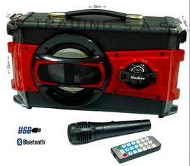 Cabina Parlante Portátil Recargable Bluetooth Usb Sd Fm