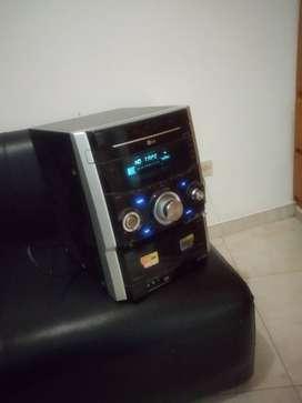 Torre equipo de sonido