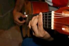 Clases de guitarra modo virtual