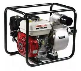 Moto bomba Autosebante de 3 pulgadas marca Honda