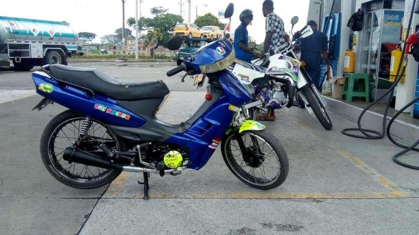 venta de moto vivax 115 modelo 2009, con papeles todos al día 0