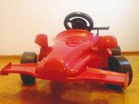 Auto a Pedal. Karting Rojo. De 3 a 6 años
