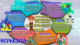 CLASES DE MATEMÁTICA-FÍSICA ONLINE-PRESENCIAL