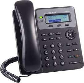 TELEFONO IP GRANDSTREAM GXP 1610 C/LINEA FIJA LOW COST EN COMODATO