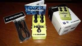 Pedal de guitarra Helix Phaser de tc electronic