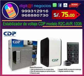 Estabilizador de voltaje CDO modelo R2C-AVR 1008i