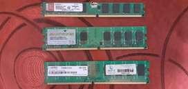 Memorias para Pc Ddr2 2 Gb