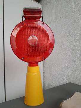 Flasher  reflectivo  color rojo solar