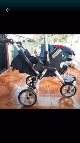 Vendo coche de bebe marca Jane