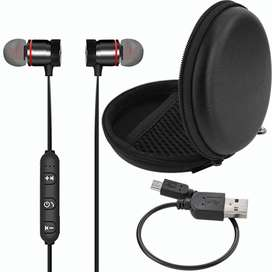 Audífonos Bluetooth Imantados - Manos Libres