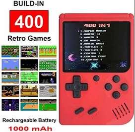 Mini Consola de video juegos portátil 400 en 1