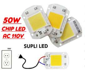 Chip Led 50w 110v Ac Reflector Modulo Lu