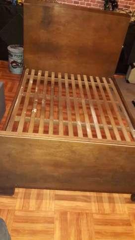 Liquido urgente cama antigua de 2 plazas