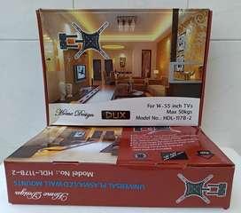 Soporte de pared reclinable para televisor, Excelente calidad, nuevos!!!