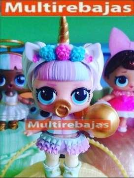 Muñecas Para Niñas Coleccion  Lol Surprise Unicornio
