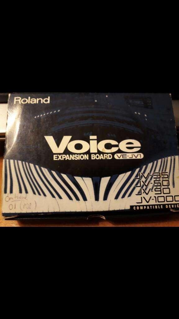 Expansion Sonidos Voice para Roland 0