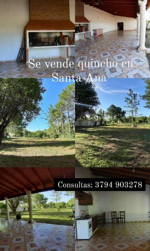 Venta de quinta Santa Ana Corrientes