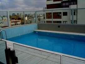 alquilo monoambiente con piscina 2/3 personas palermo piscina-wifi cochera