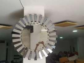Hermoso espejo girasol