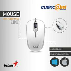 MOUSE DX110 WHITE G5 USB GENIUS