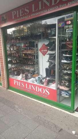 Vendo local de zapatos excelente locación