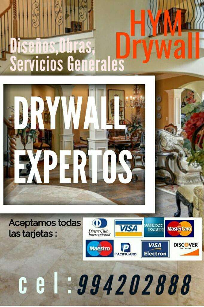 Drywall Expertos Profesionales 0
