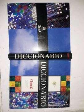 Tapa diccionario Clarín