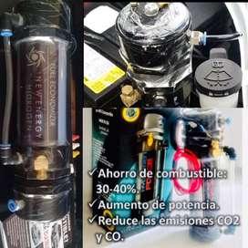 Ahorrador de combustible para todo vehiculo