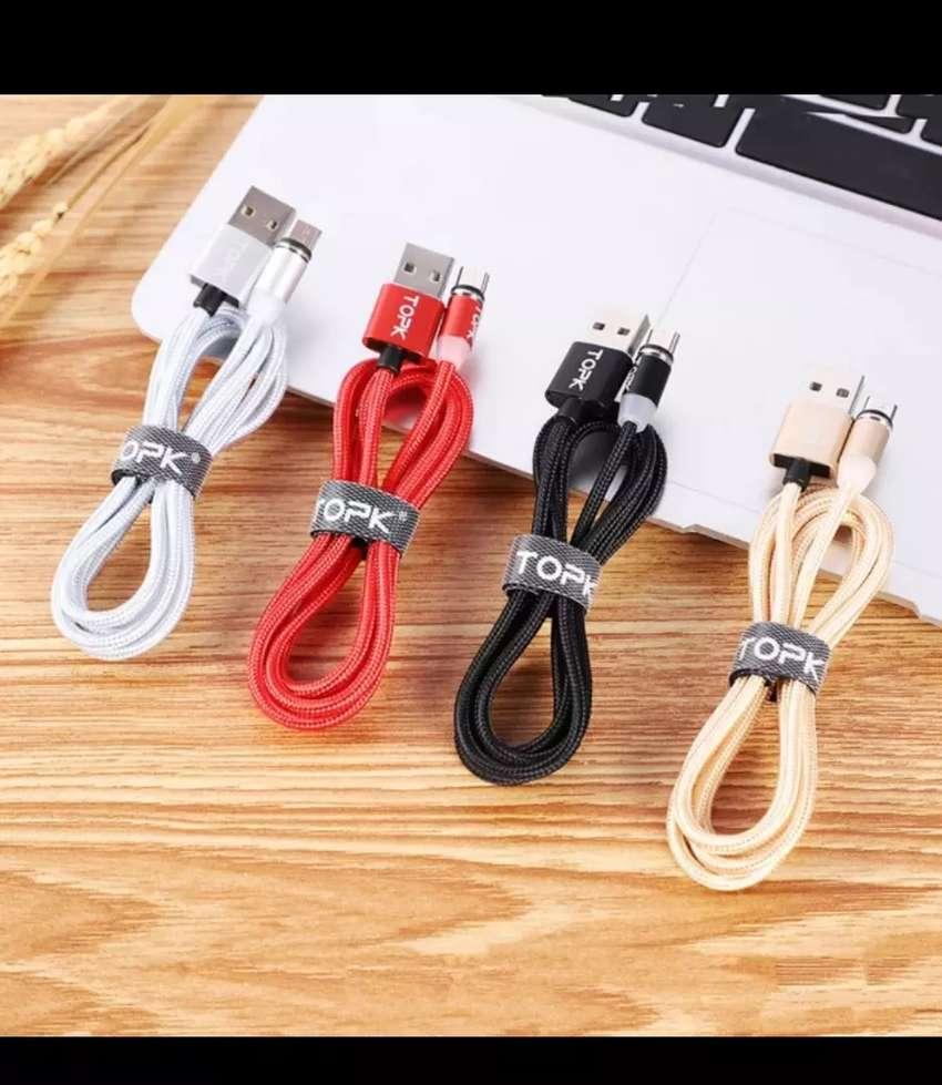 Cable USB Magnético de carga rápida TOPK