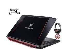 Portatil Acer Predator I7 8g 1060 6gb 1tb 16ram 15.6 144hz