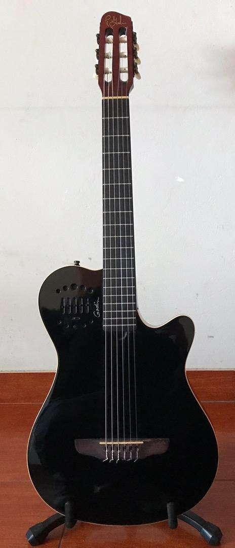 Guitarra Godin Grand Concert Duet Ambiance Black 0