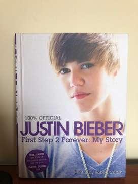 Libro de Justin Bieber