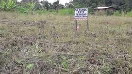 Terreno Esquinero con Escrituras y servicio de agua en Sucua