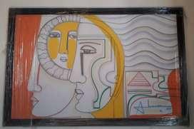 Obras de arte en óleo del reconocido artista Colombiano Abiezer Agudelo,