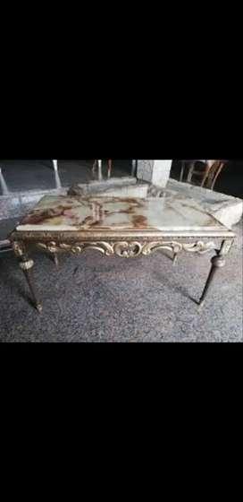 Vendo mesa ratona de marmol antigua unica