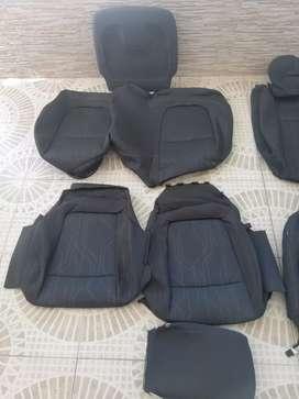 Forros originales Chevrolet Tracker + accesorio asiento Copiloto