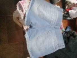 jeans corto talle 10
