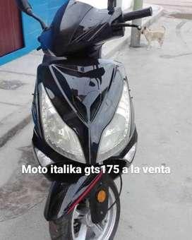 MOTOSCOOTER ITALIKA GTS175 - 100% OPERATIVA