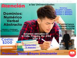 Nuevo curso de ingreso a la Universidad