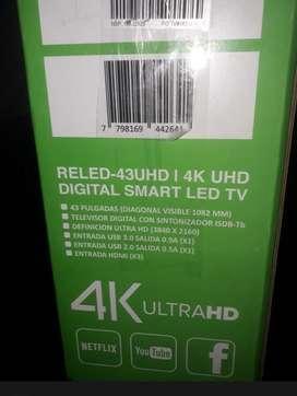SMART TV 43 ultrahd 4k