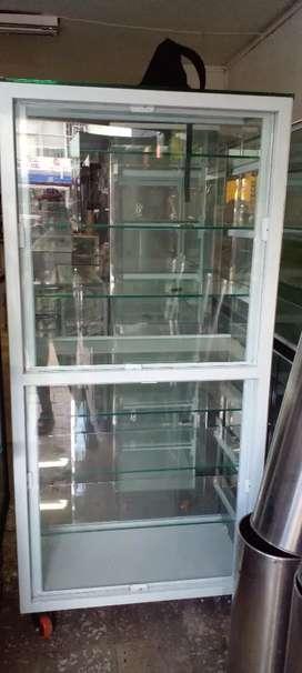 Vitrina para pared  vidrio de 10