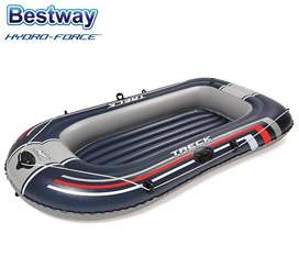 Bote Inflable Bestway Hydroforce Treck X1 P/2pers ¡ Oferta !