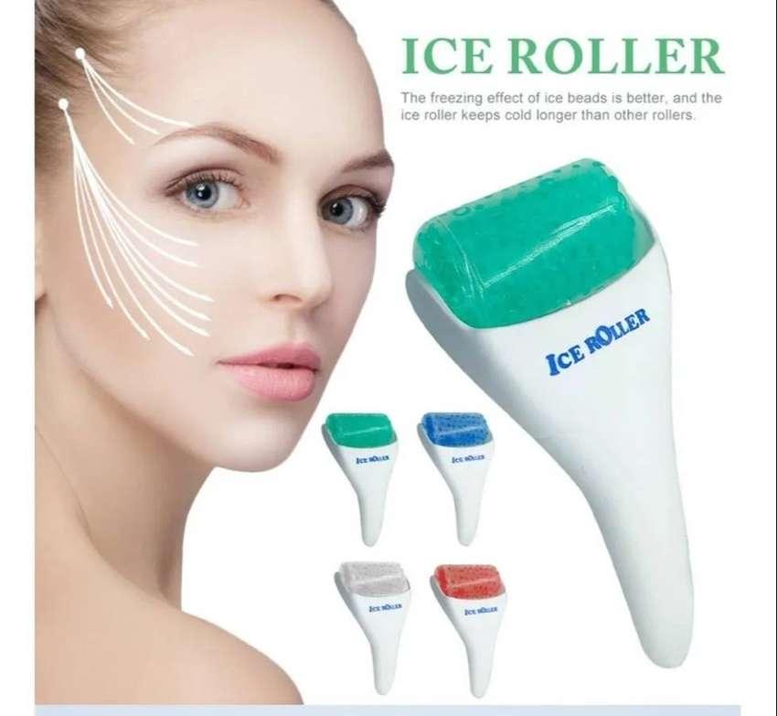 Ice Roller Crioterapia Facial Rodillo Tonificacion Con Hielo